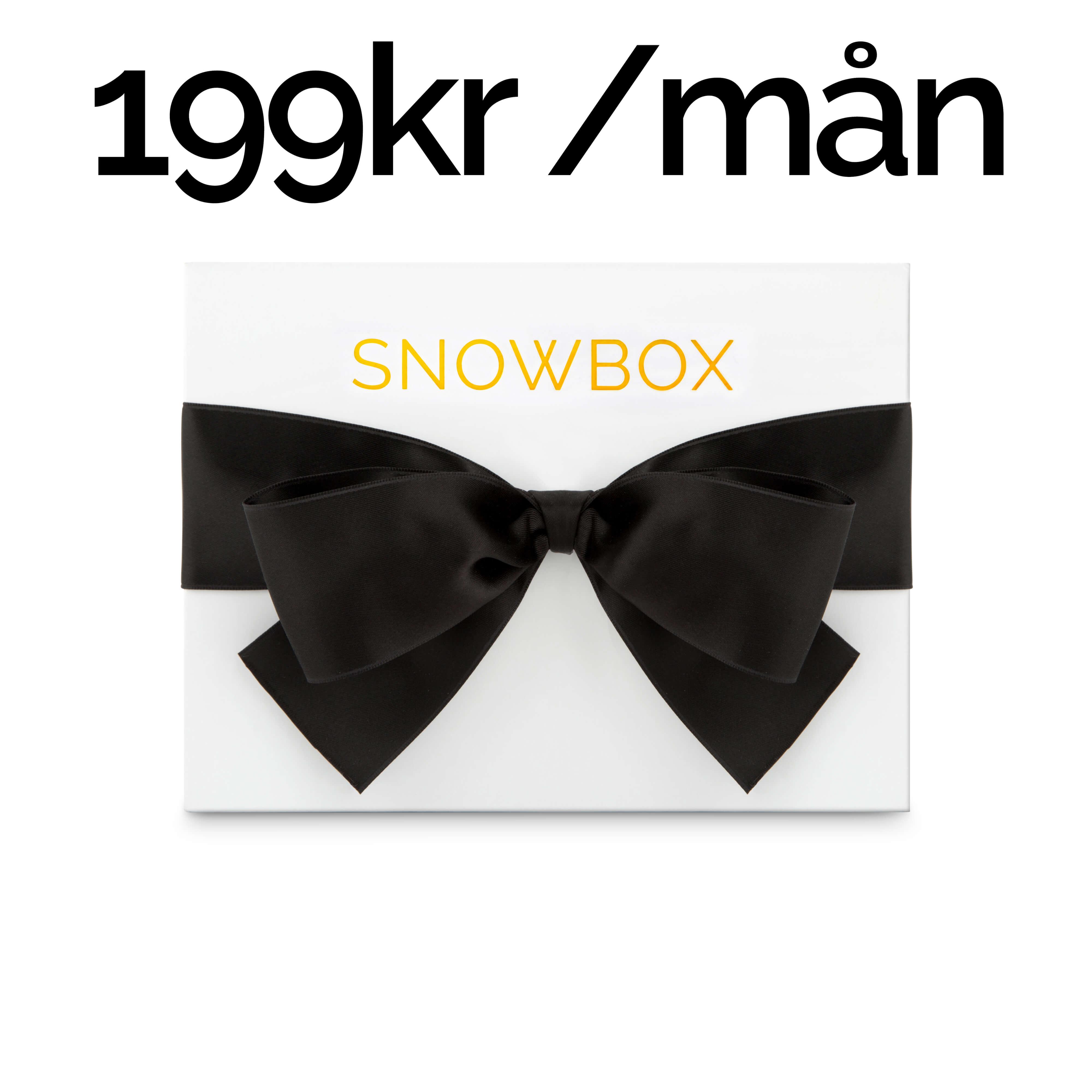 månadsprenumeration snowbox