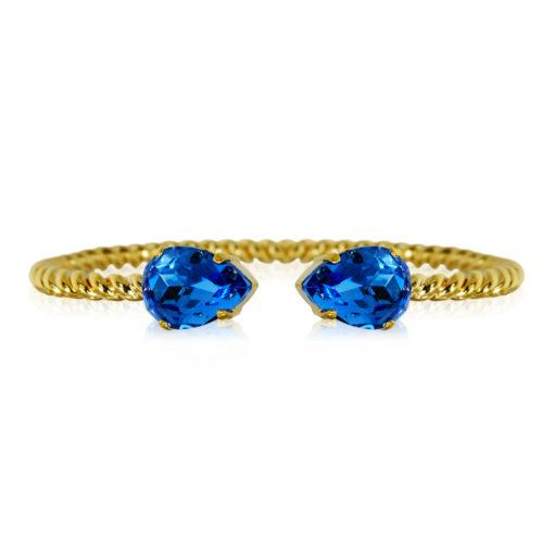Caroline Svedbom Mini Drop Armband sapphire