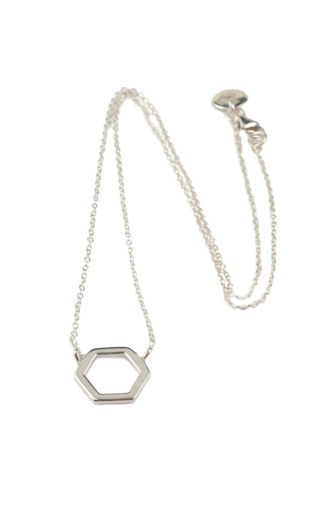 Syster P Hexagon silver